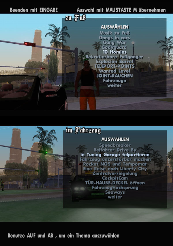 gta san andreas unlock all cities mod